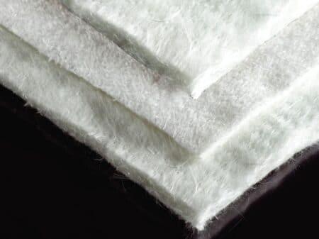 Feutres aiguilletés de verre et silice (2)